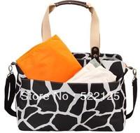 Free shipping Multi Function Baby Diaper Bag Mummy Mama Nappy Handbag 3 colors choose