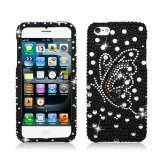 3D Rhinestone Cell Phone Case, Diamond Cover For IPhone 5 5S 5G-wholesale 50pcs.
