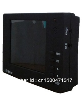"P3 3.5"" LCD Handheld CCTV Security Video Camera Tester Box Monitor For Camera Testing  12V Output"
