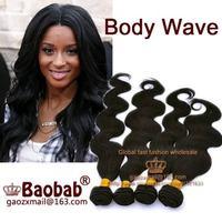 Free Shipping 100 % Best Peruvian real human remy hair do Color 1b 2 4 # Natural Body Wave pcs mixed length bundle g Grade AAAAA