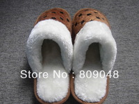 Men's cotton slippers. Winter slippers; Men's slippers/shoes
