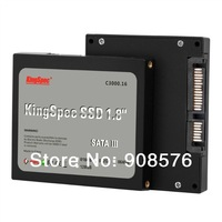 "Free Shipping KingSpec 1.8"" 64G SSD SATAII MLC (KSD-SA18.5-064MJ) Solid State Drives for laptop ,2 years warranty"