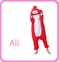 Adult Ali Onesies Pajamas Onepiece Sleepwear Women's Halloween Cosplay Costumes