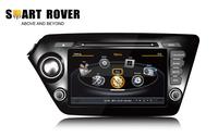 S100 Car DVD Player For Kia K2 Rio 2011 2012 GPS Navigation Audio Video Multimedia RDS Radio iPod 3G WiFi Steering Wheel Control
