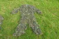 Cool New Ghillie Suit Camouflage Sniper, Jacket, pant, head cover, rifle cover