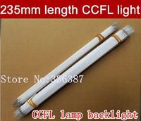Free shipping 20pcs 235MM length LCD CCFL lamp backlight , CCFL backlight tube,235MM*2.0mm, 235MM length CCFL light
