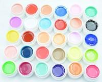 30pcs Colors  Pure Colour uv gel, Uv gel Set, Builder Gel for nail art