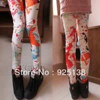 New 2013 european Legging pants Cheap high waist Leggings Color pants