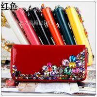 Free shipping 2013 New european women  handbag fashion handbag purse wallet