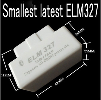 Wireless Bluetooth  ELM327 Elm 327 OBDII OBD2 OBD 2  Automotive Car Scanner Auto Diagnostic Tool for Android Torque Win0055