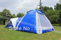 New 4 persons Waterproof Double layer outdoors tent Durable family camping tent