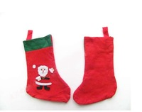 free shipping Non-woven many Christmas stockings wholesale Christmas stockings
