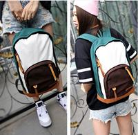 Popular 2013 New Shoulders fashion canvas bag computer bag casual backpack colorful canvas shoulder bag school bag