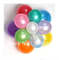 100pcs/lot Latex Helium Inflable Thickening Pearl Wedding Party and 1st Birthday Balloon