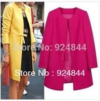 new 2014 winter jacket women Autumn Winter Women Fashion Faux Coat women's winter jacket Outerwear For Women Free Shipping