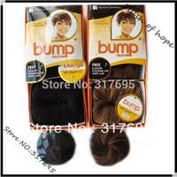 Free Closure Stocking/Shower Cap  Sensationnel Bump 27pcs Real Hair Extensions Brazilian Hair Weaving Weft 3pcs/pack 6Packs/lot