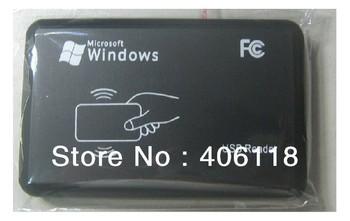 shippig libre, 125 khz rfid identificación& em lector de tarjetas escritor& copiadora/duplicater( t5557/em4305/5200/6608