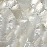 Mother of Pearl Tile fresh water Shell Tiles subway Wall tiles Kitchen Backsplash Pearl Seashell Mosaic Shower Tile SW15252