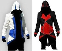 Assassins Creed 3 III Conner Kenway Hoodie Coat Jacket Cosplay Costume PU/FAUX Customize Cosplay