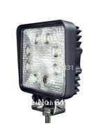 Free shipping  4pcs/lot 24w truck round lights,atv ,led work light,led trailer lights,driving lights4x4,led fog lamp
