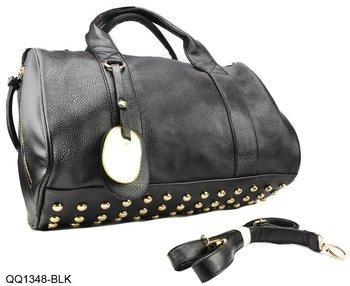 8Color Free shipping Star Products! guaranteed 100% Rivets decoration handbags fashion 2014 new women bags handbag bag/QQ1348