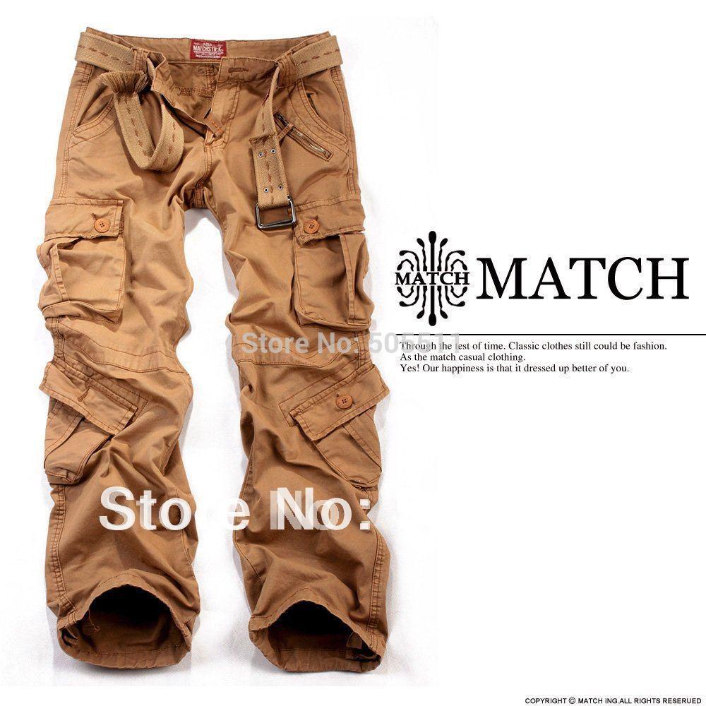 Cargo Pants For Men Matchstick men's vintage cargo