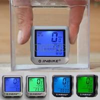 2014 New Multifunction Waterproof LED Display Cycling Bicycle Bike Computer Odometer Speedometer 3 Colors Wholesale #7 SV006123