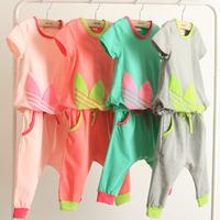 Free shipping kids children t-shirts summer fashion baby girls boys Cotton t shirts tops tees short sleeve clothes K0122