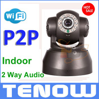 2 Way Audio Night Vision IP Camera Wireless Network Internet Wifi RJ45,Indoor Home Surveillance CCTV Camera