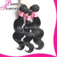 3 pcs Lot Brazilian Virgin Hair Body Wave Beauty Forever Cheap Unprocessed 6A Virgin Brazilian Human Hair Weave Wavy Bundles