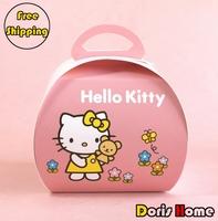 Free Shipping single individual mini paper Hello Kitty bakery cupcake boxes
