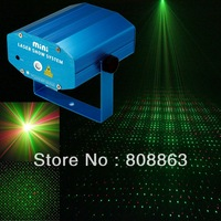 FREE shipping New 3MODES Red Green Mixed DJ Laser Stage Lighting Light show  for Disco Party Club CZL