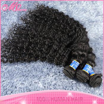 Luvin Hair Product Kinky Curly 5A Malaysian Virgin Hair Malaysian Deep Wave Tight Curly Human Hair Weave 4pcs lot Free Shipping