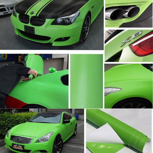 3D Carbon 127x30cm Car Auto Fiber Sticker For Ford/Equalizer/Chevrolet/Skoda Octavia/Motorcycle/Mobile/Laptop(China (Mainland))