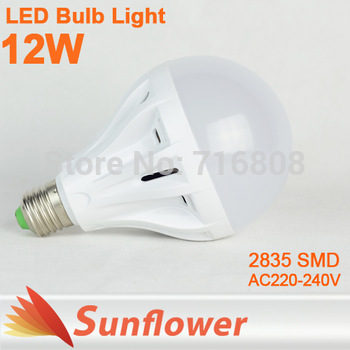 6pcs/lot LED Bulb Lamp E27 2835SMD 4W 6W 10W AC220V 230V 240V 400lm 600lm 1000lm Cold white/warm white Free shipping