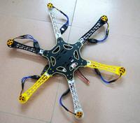 F05114-C HexaCopter ARF Drone F550 Hex-Rotor FlameWheel Kit + KK 2.3 Flight Controller ESC Motor Propeller + Freeship