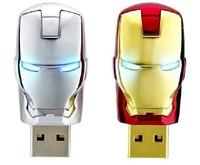 Wholesale and sell perfect avenger iron man pendrive LED flash 512 gb USB flash memory drive stick  free shipping