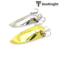 GT-BIO(R)-Spoon luminous Metal Spoon Fishing Lures with Mustad hooks