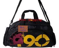 Shoes Messenger Bag Football Basketball Bag Gym Bag Sports Bag Black And Yellow