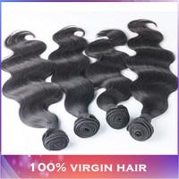 Peruvian body wave virgin hair modern show hair 3pcs 5a peruvian virgin hair body wave color 1b 100% human hair weave wavy