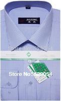 Special offer ! spring autumn men's long sleeve shirt blue striped shirt man cardigan business base shirt male free shipping 64