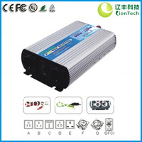 12/24VDC to 110/220VAC 600W 1200W Pure Sine Wave Off Grid Solar and/or Wind Power Inverter NV-P600 with CE RoHS FCC Certificates