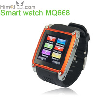 "Phone Call Message Wristwatch Smart Watch SIM GSM FM 1.54"" Touch Screen Bluetooth 1.3MP Camera 8G TF Card Storage 450mAh Battery"