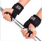 New 2014 High Quality Weightlifting Belt Chin-up Tape Bodybuilding Wristbands Sports Dumbbell Tape Sport Equipment Free Shiping(China (Mainland))