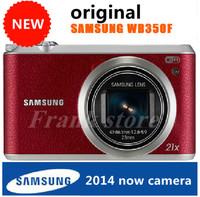 Freeshipping DHL EMS 2014 NEW Camera Original Samsung WB350F camera 16MP Optical zoom 21X 3 INCH camera gift 8gb card /WB110 bag