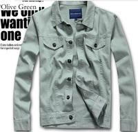 2013 jacket men free shipping coat clothing men's clothing slim medium-long male fashion outerwear trench male overcoat men coat
