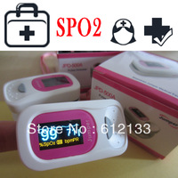 OLED Screen Fingertip Pulse Oximeter SPO2 Oxygen Monitor ALarm Function