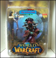 Action Figures Undead Warlock Model World of Warcraft Sota WOW Classic Toys For Children 9cm Height With Original Box