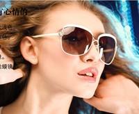 F.D.A  Fashion Driving Sexy Glasses Brand Designer Oculos 2015,UV400 Protection Big Frame Vintage Sunglasses Women High Quality
