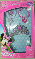 2013 Cute lovely  Cartoon Children jewelry jewellery sets ( 3 items) for women girl !Minnie/Princess/Cinderella/Fairy  Optional